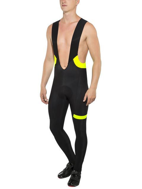 Etxeondo Biko Bib Tight Men Black-Yellow-Fluor